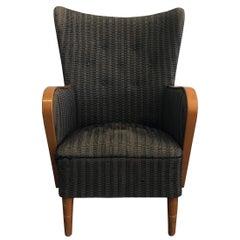 20th Century Single Swedish Bergere Chair