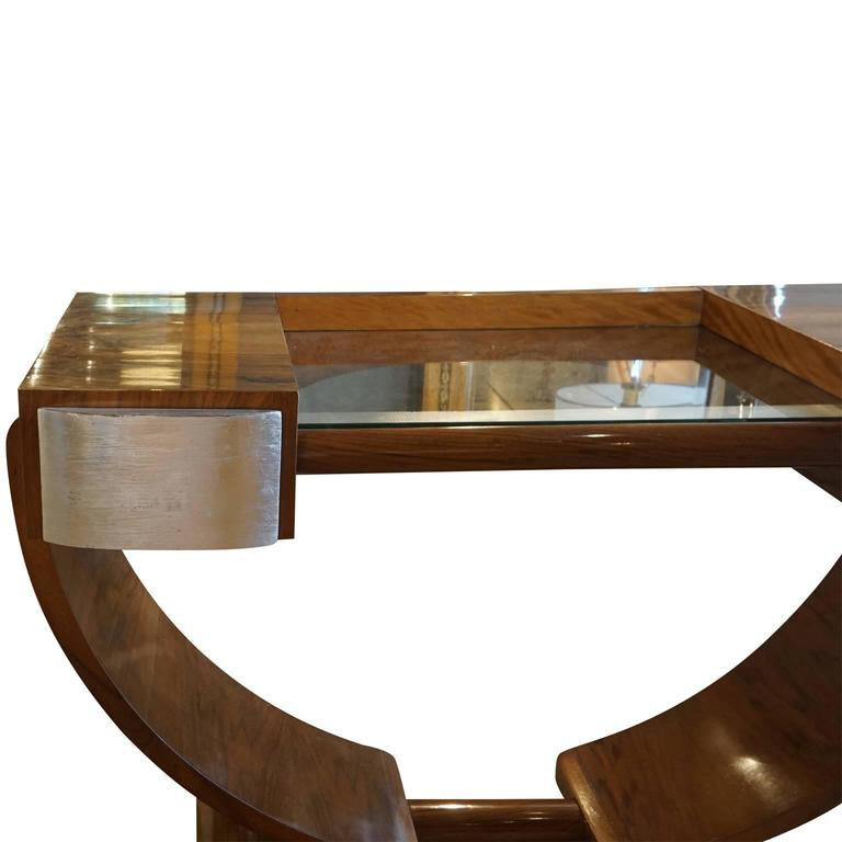 Veneer 20th Century French Art Deco Coiffeuse Vanity For Sale