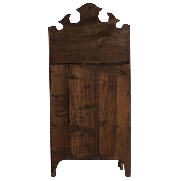 Rococo Mid-18th Century Dresdner Wood Bookshelf For Sale