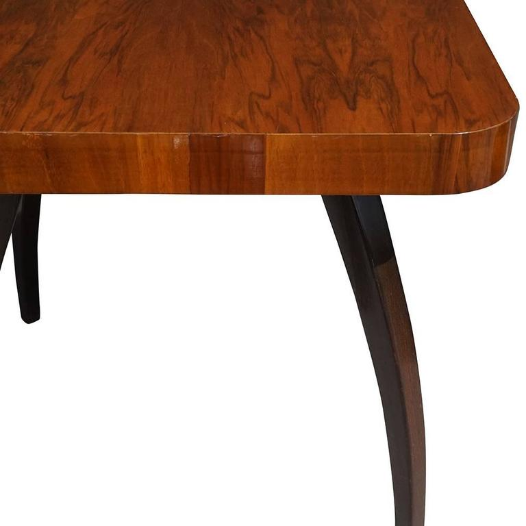 Mid century modern century walnut table for sale at 1stdibs for Modern furniture west palm beach