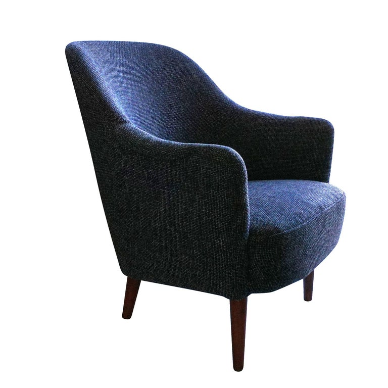 Mid-Century Modern Carl Malmsten Easy Chair For Sale