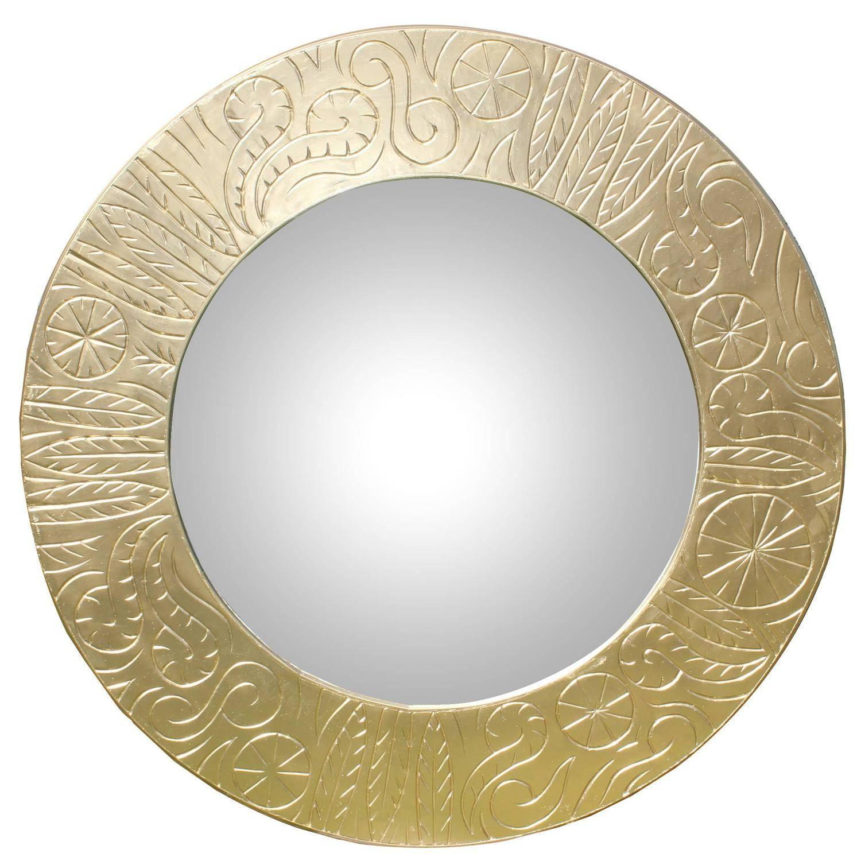 French Art Deco Giltwood Mirror
