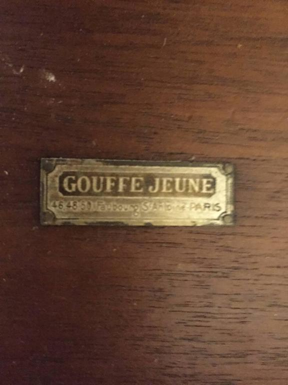 Gouffe French Art Deco Occasional Table In Excellent Condition For Sale In North Bergen, NJ