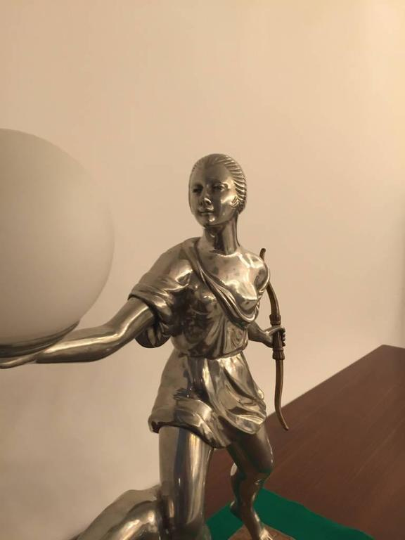 French Art Deco Table Lamp For Sale 1