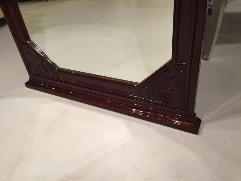 French Art Deco Mirror In Excellent Condition For Sale In North Bergen, NJ