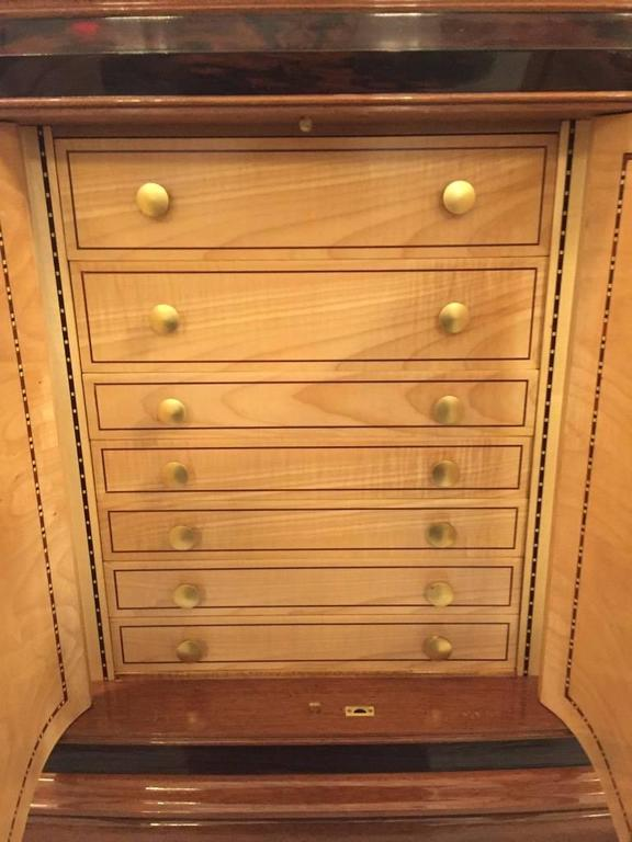 French Art Deco Six-Door Buffet in the Style of Jules Leleu For Sale 5
