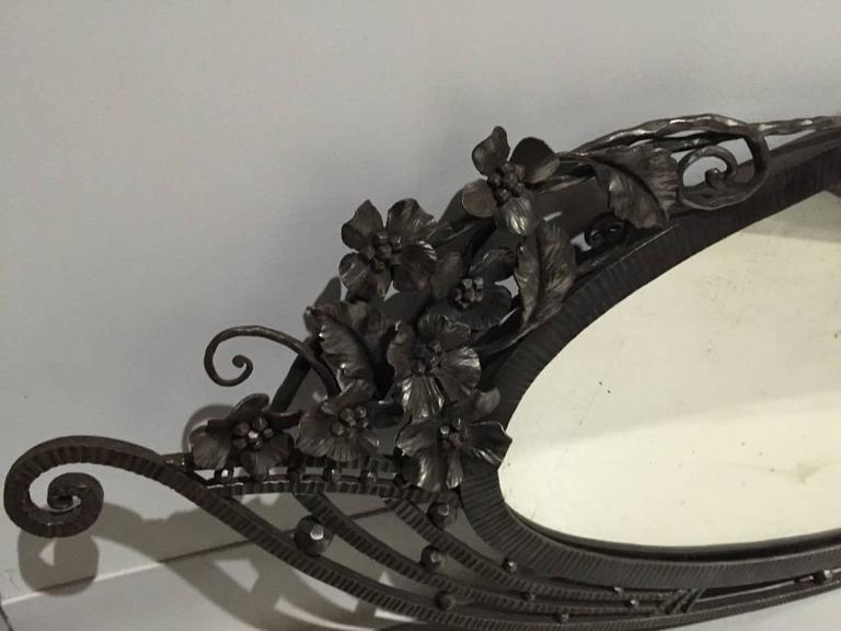 French Art Deco Mirror For Sale 2