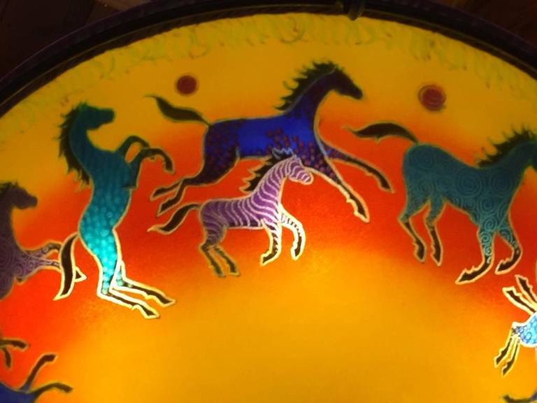 Ulla darni sunset horses chandelier at 1stdibs ulla darni aloadofball Images