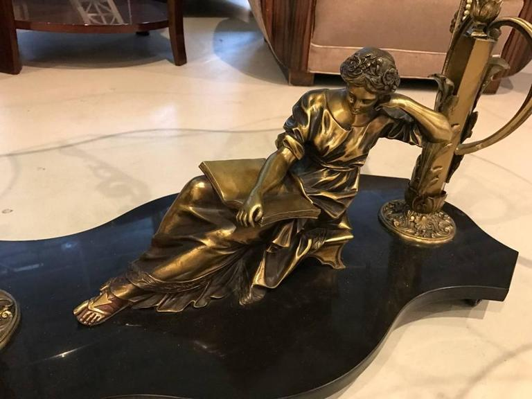French Art Nouveau or Art Deco Coffee Table In Excellent Condition For Sale In North Bergen, NJ