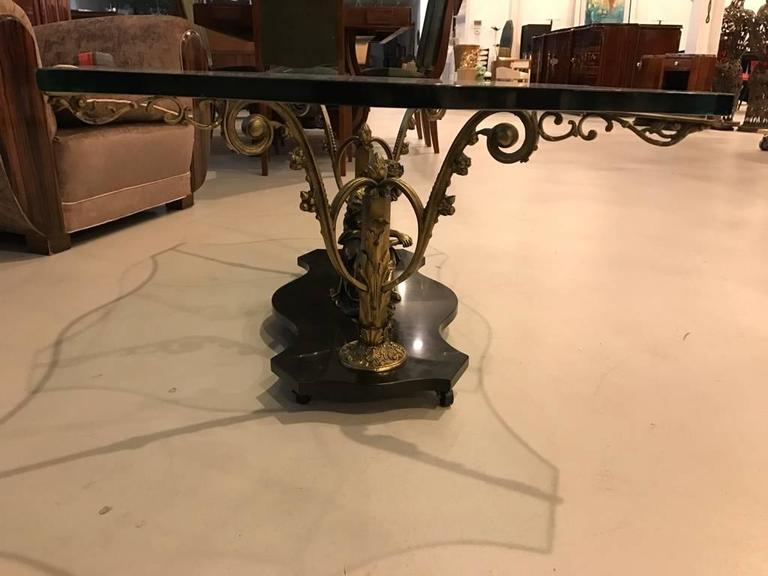 French Art Nouveau or Art Deco Coffee Table For Sale 3
