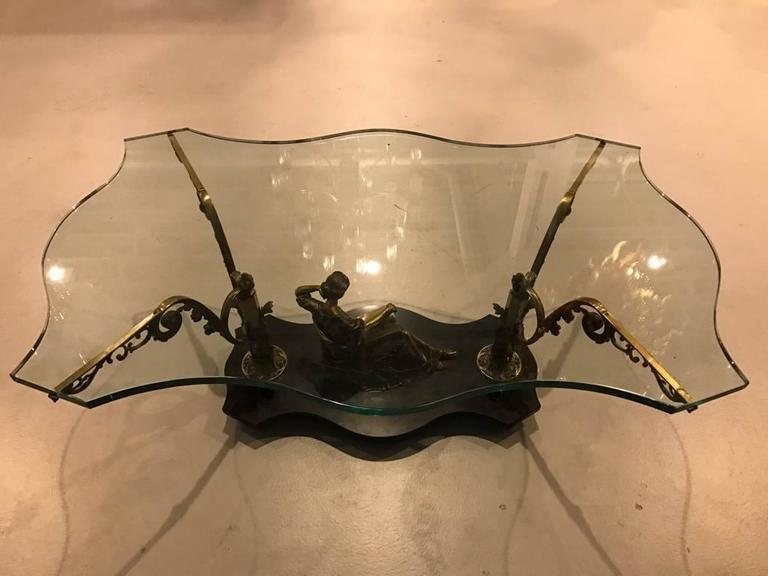 French Art Nouveau or Art Deco Coffee Table For Sale 6