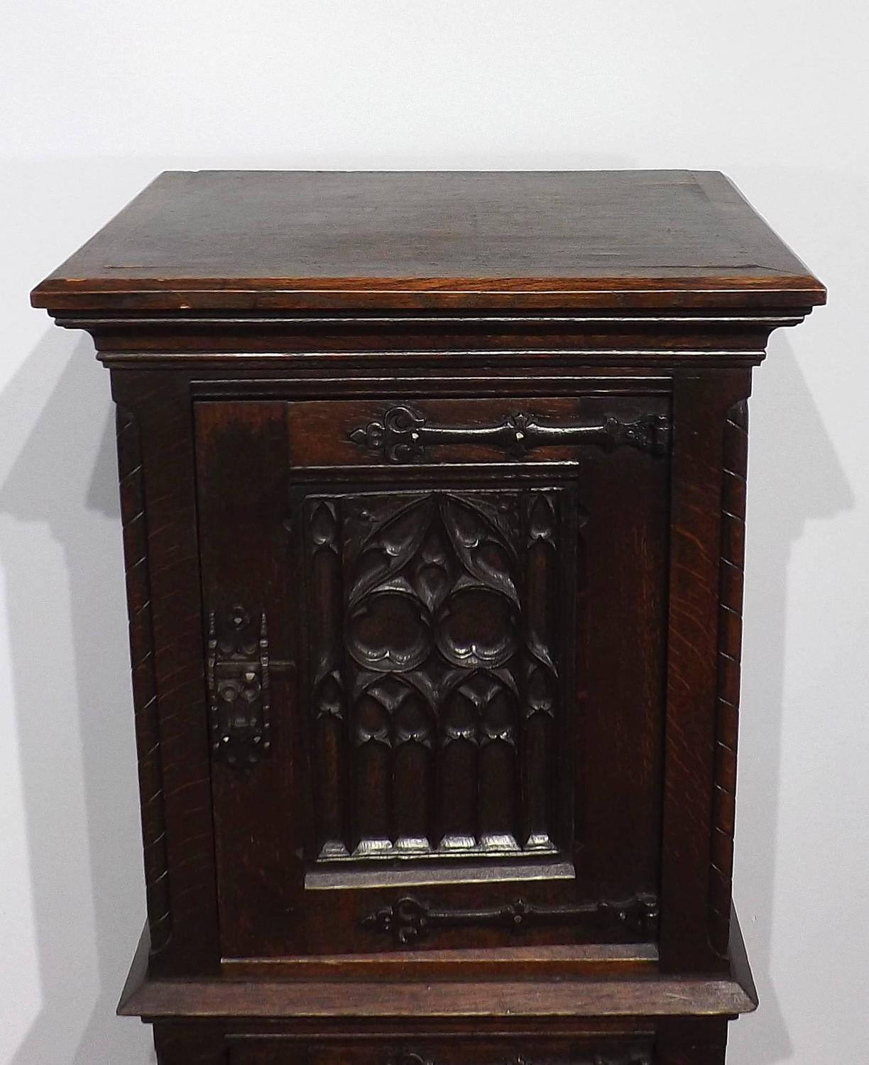 Gothic Revival Cabinet At 1stdibs