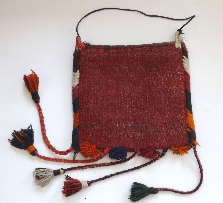 Handwoven Persian Rug Bag For Sale At 1stdibs