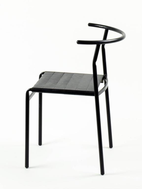 Beau Industrial Philippe Starck Eight U0027Café Chairsu0027 For Baleri Italia, 1984,  Café Costes