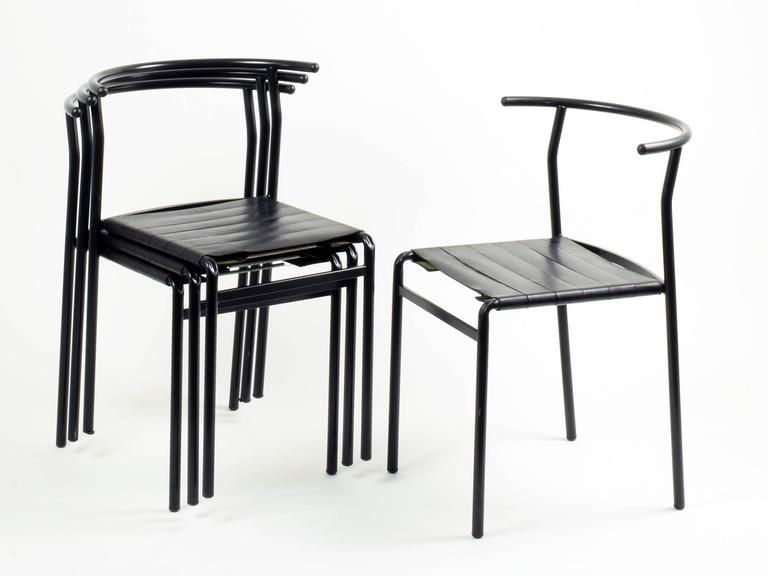 Philippe Starck Eight 39 Caf Chairs 39 For Baleri Italia