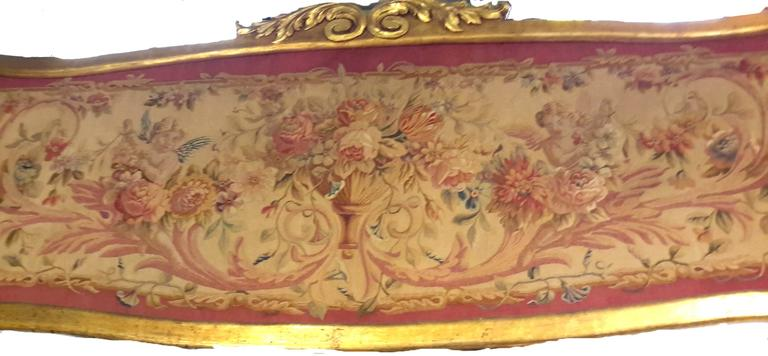 Pair of 19th Century French Aubusson Tapestry Panels Framed 3