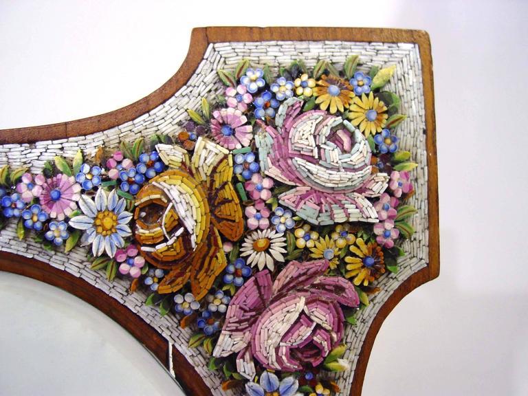 Superb Micro Mosaic Frame Venice Italy Circa 1900 At