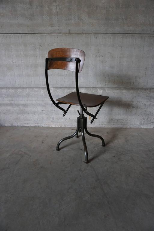 Industrial Work Chair By Tan Sad At 1stdibs