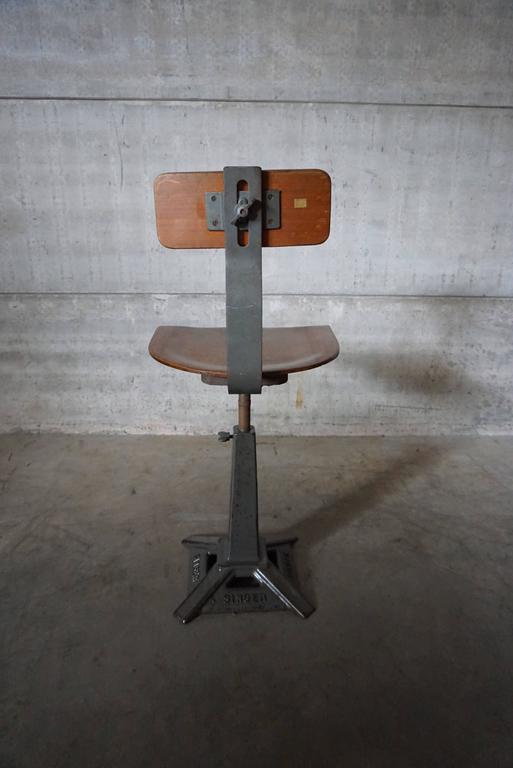 Singer Work Chair At 1stdibs