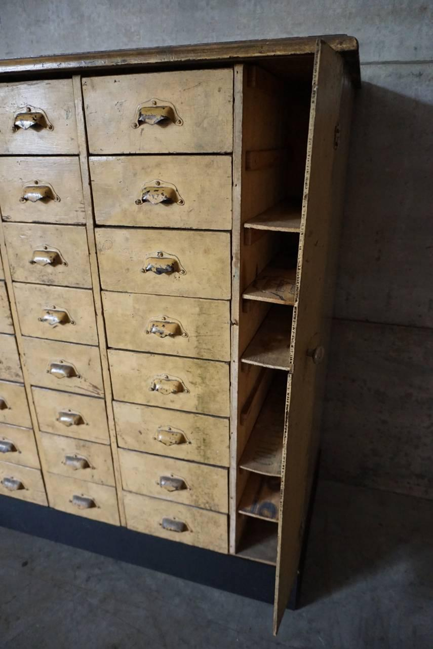 Vintage french apothecary cabinet 1930s for sale at 1stdibs for 1930s kitchen cabinets for sale