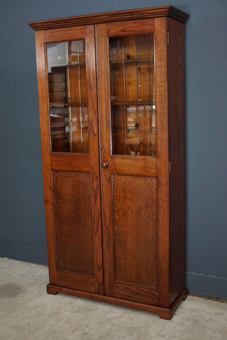 French Oak Kitchen Cabinet, 1900s For Sale 1