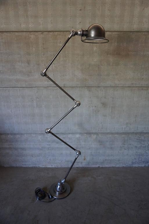 Industrial Five-Armed Graphite Lamp from Jieldé, France, 1950s at ...