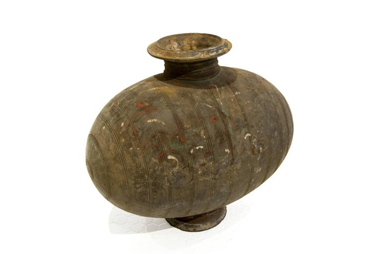 Other Han Cocoon-Shaped Vessel For Sale