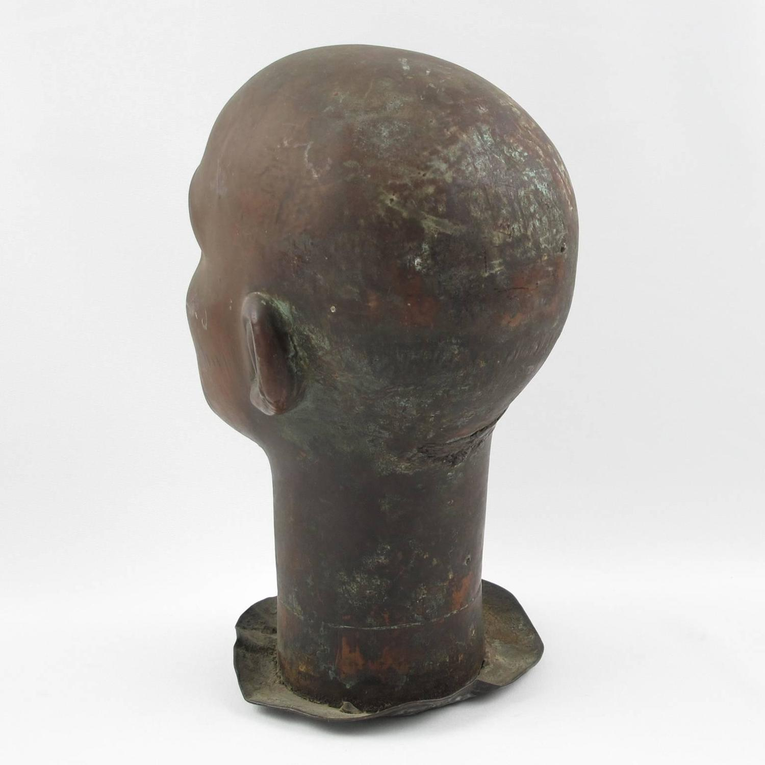 how to make mold of head