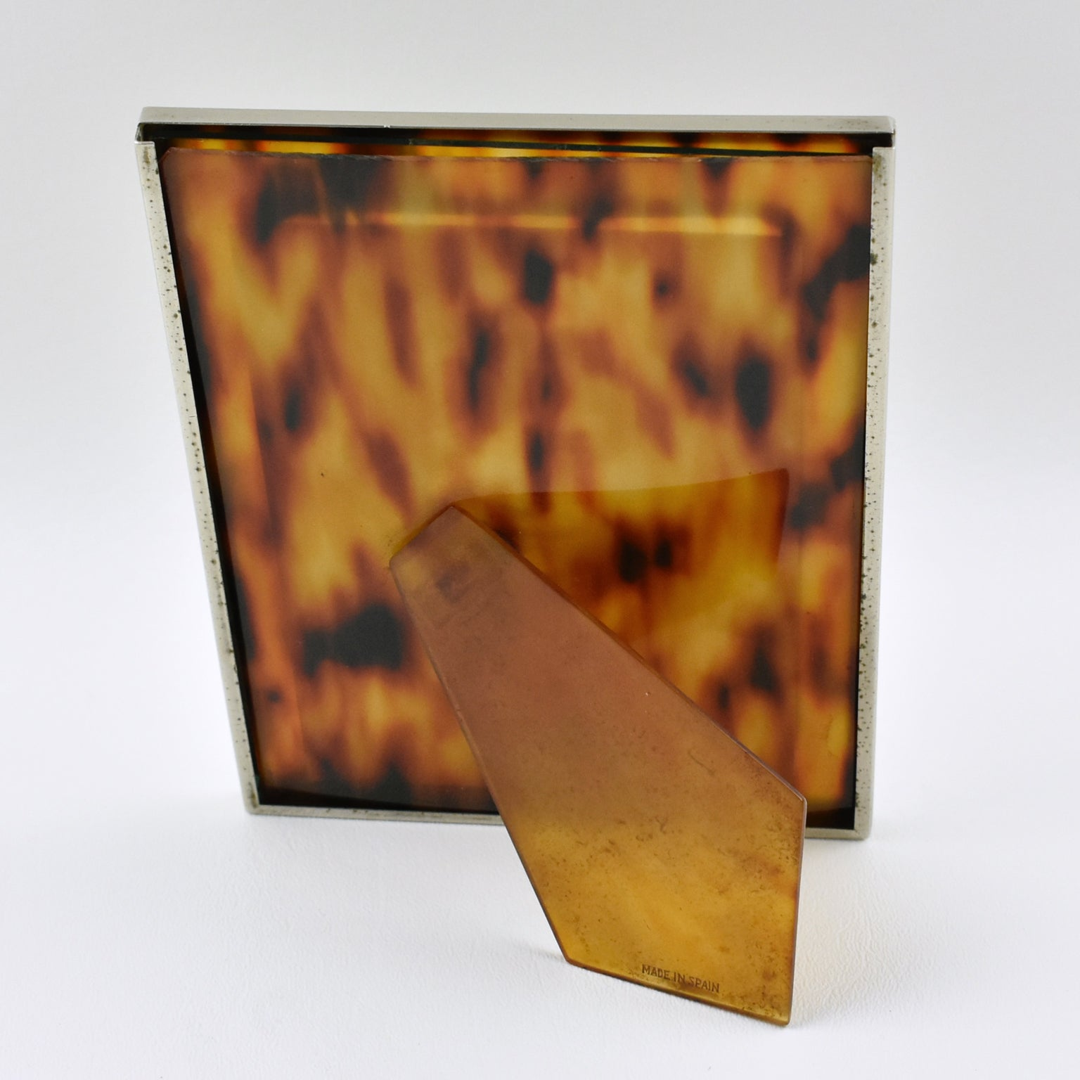 ca0c83c998e Tortoise like celluloid and chrome picture photo frame for sale at stdibs  jpg 1536x1536 Celluloid picture