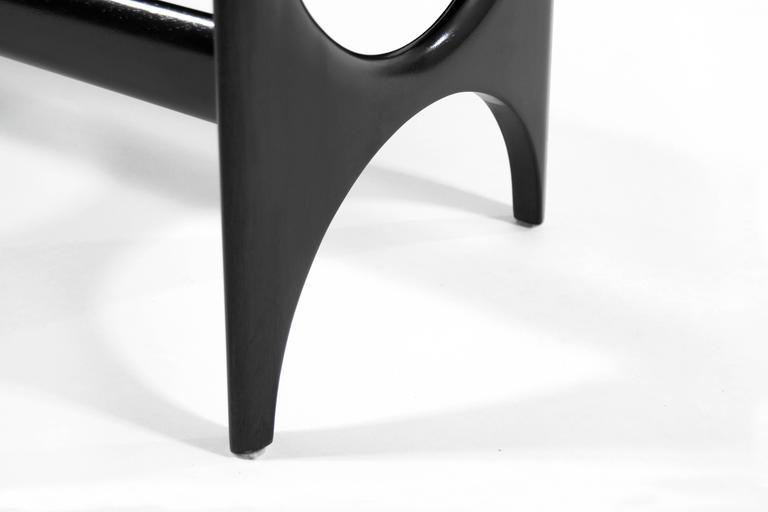DC Sculptural Walnut Bench 6
