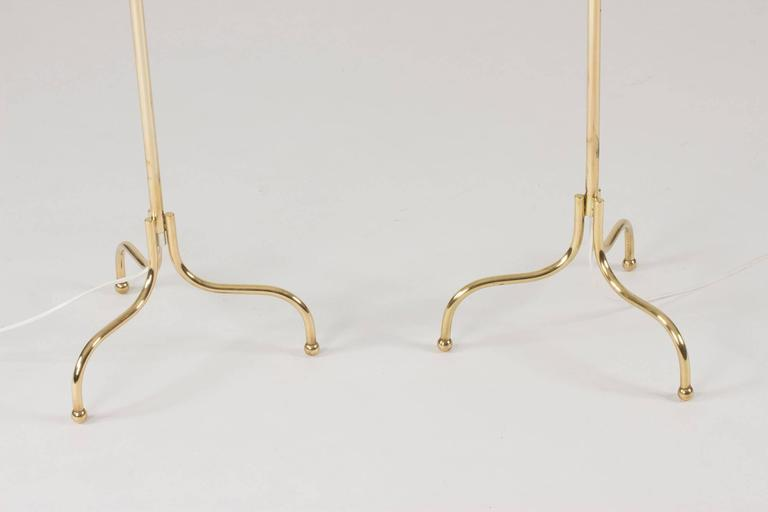 Pair of Brass Floor Lamps by Josef Frank 5