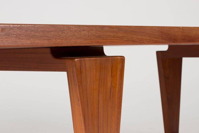 Mid-20th Century Teak Coffee Table by Illum Wikkelsø For Sale