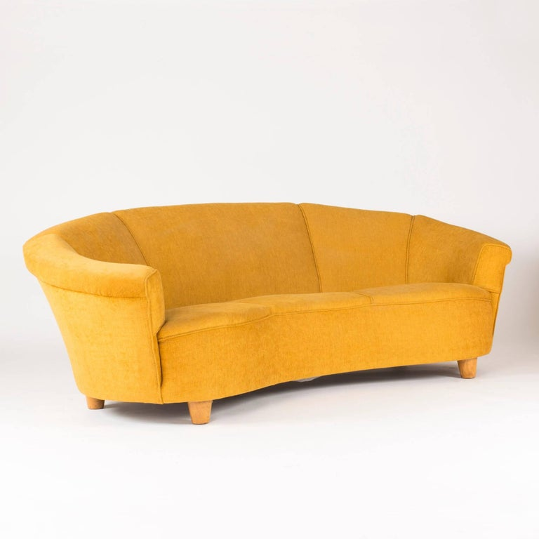 Swedish 1930s Arched Sofa For Sale At 1stdibs