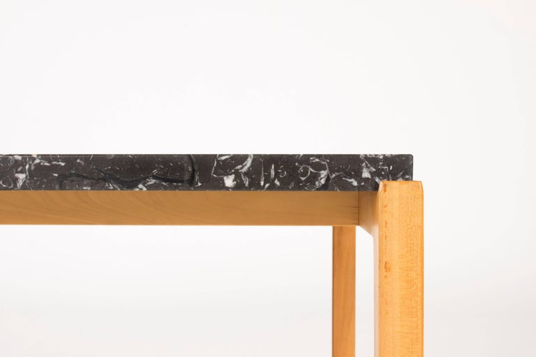 Mid-20th Century Marble-Top Coffee Table by Carl-Axel Acking