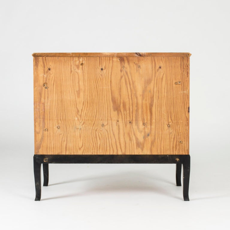 Swedish Midcentury Chest of Drawers by Erik Chambert For Sale