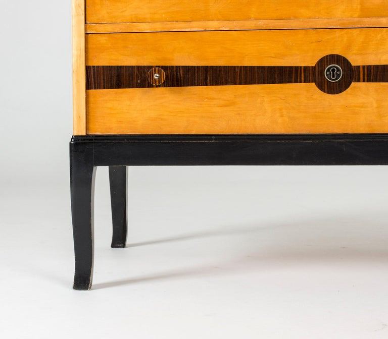Mid-20th Century Midcentury Chest of Drawers by Erik Chambert For Sale