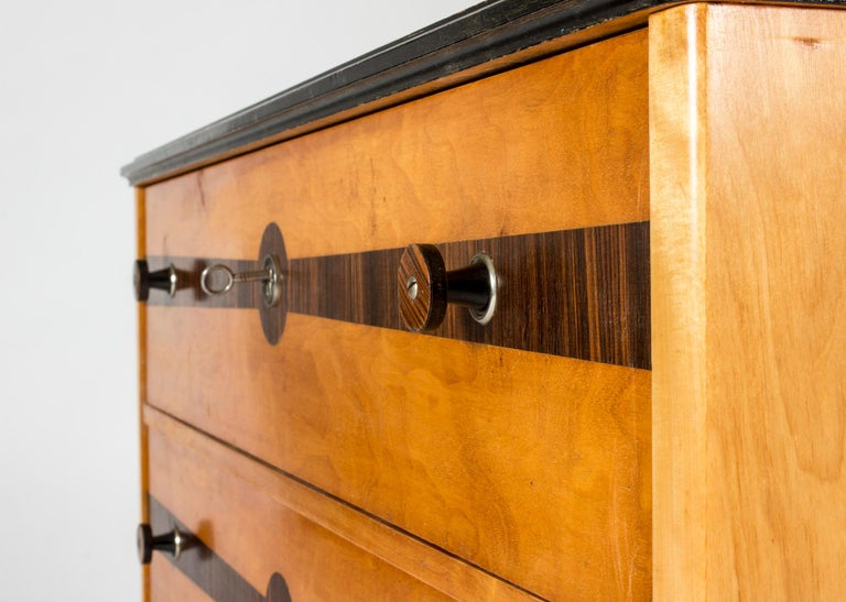 Midcentury Chest of Drawers by Erik Chambert For Sale 1