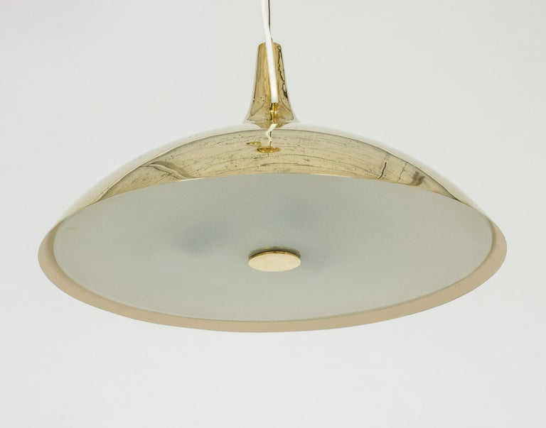 Scandinavian Modern Midcentury Pendant Lamp by Paavo Tynell For Sale