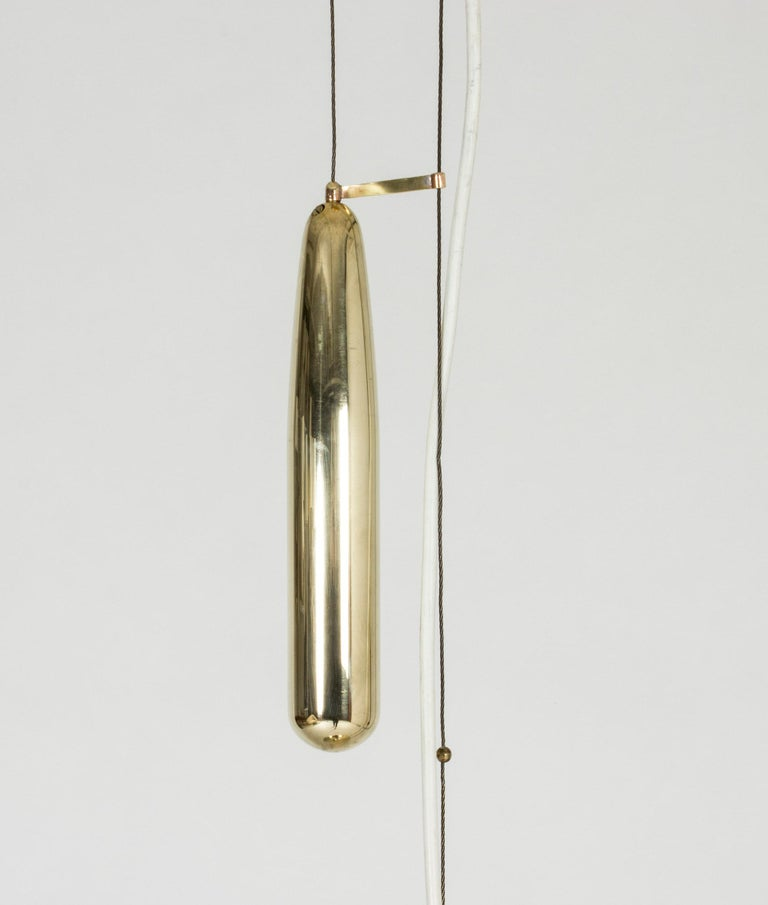 Mid-20th Century Midcentury Pendant Lamp by Paavo Tynell For Sale