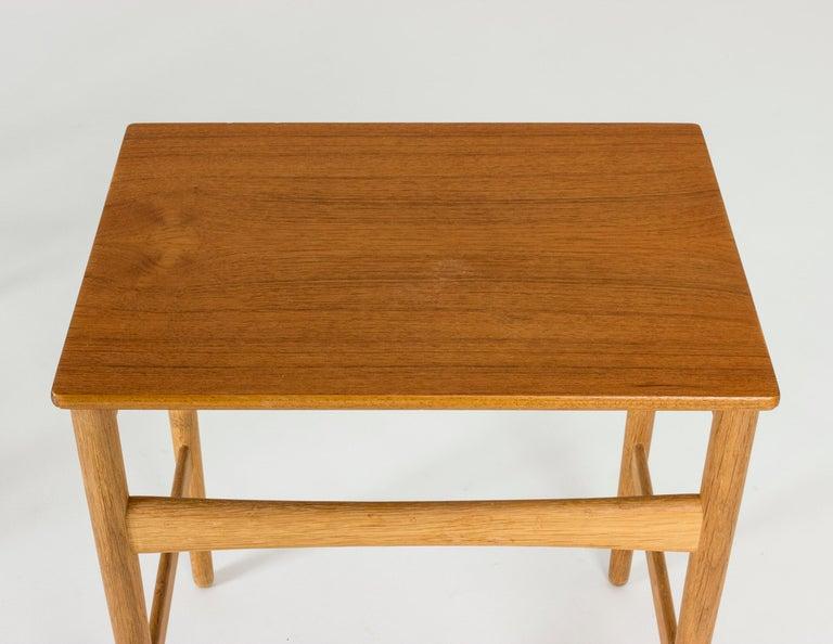Set of Midcentury Nesting Tables by Hans J. Wegner For Sale 1