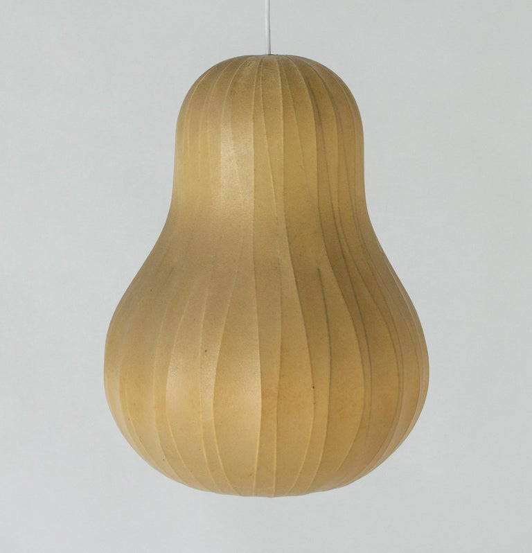 Scandinavian Modern Midcentury Resin Cocoon Lamp by Hans Bergström For Sale