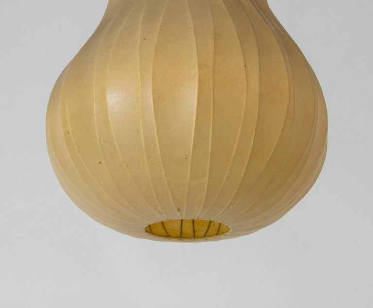 Metal Midcentury Resin Cocoon Lamp by Hans Bergström For Sale