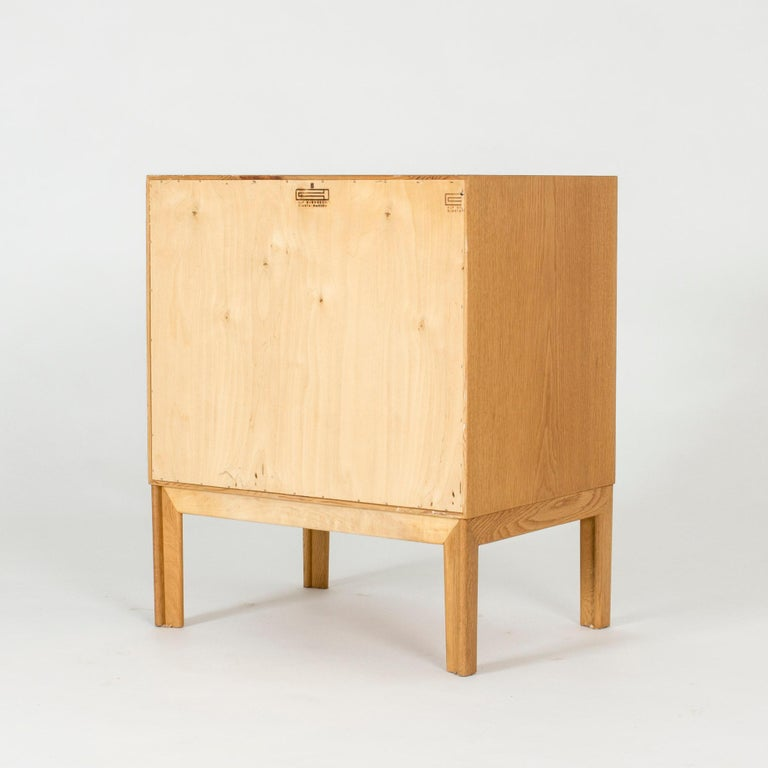 Swedish Midcentury Oak Chest of Drawers by Alf Svensson For Sale