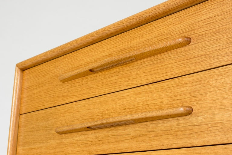 Mid-20th Century Midcentury Oak Chest of Drawers by Alf Svensson For Sale