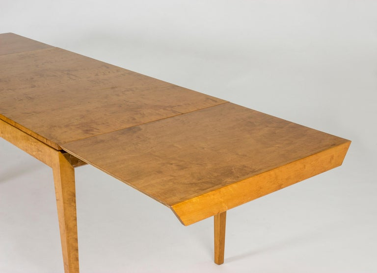 Mid-20th Century 1930s Beech Dining Table by Axel Larsson For Sale
