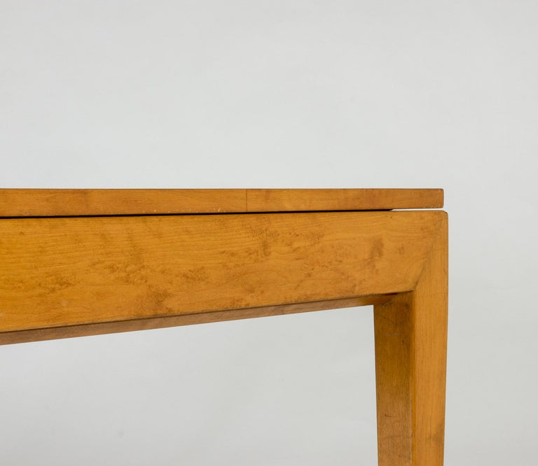 1930s Beech Dining Table by Axel Larsson For Sale 2