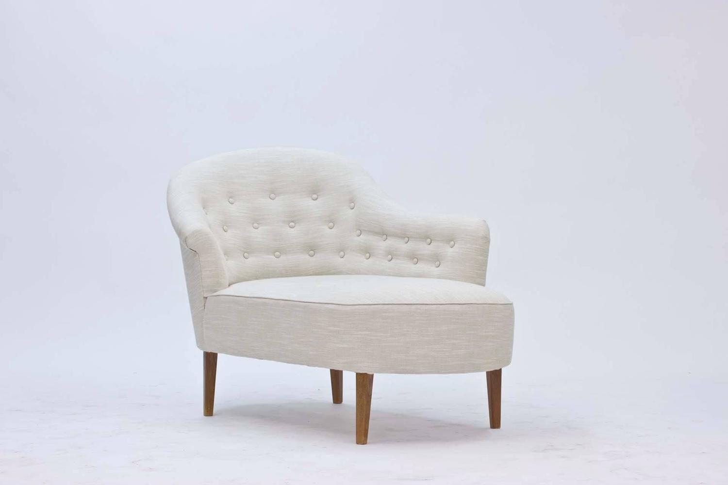 Swedish 1950s chaise longue at 1stdibs for 1950 chaise lounge