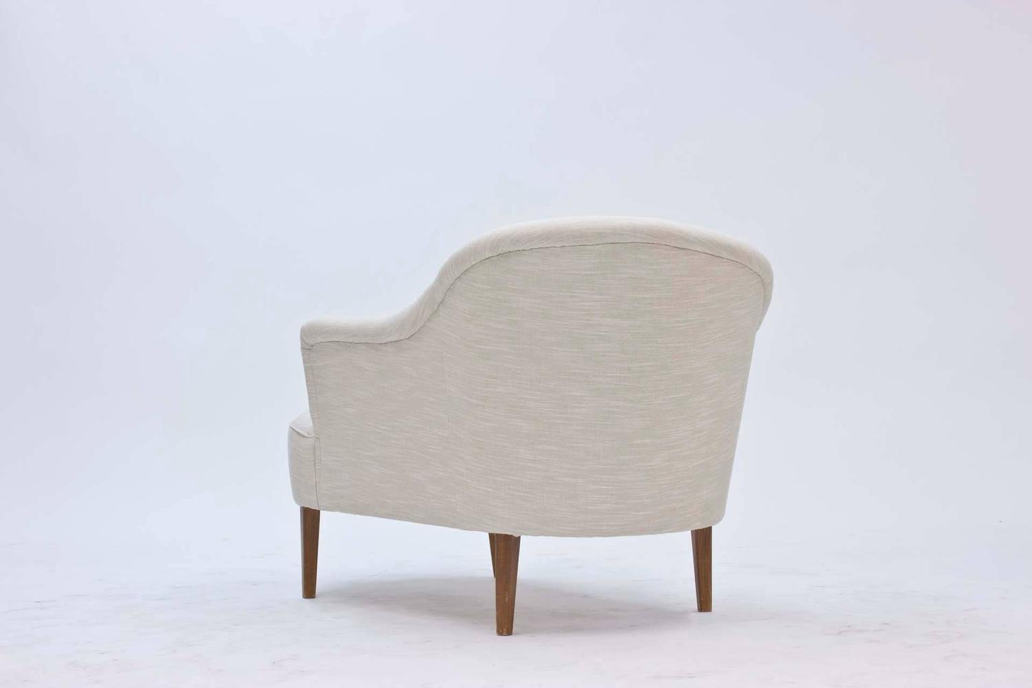 Swedish 1950s chaise longue at 1stdibs for 1950s chaise lounge