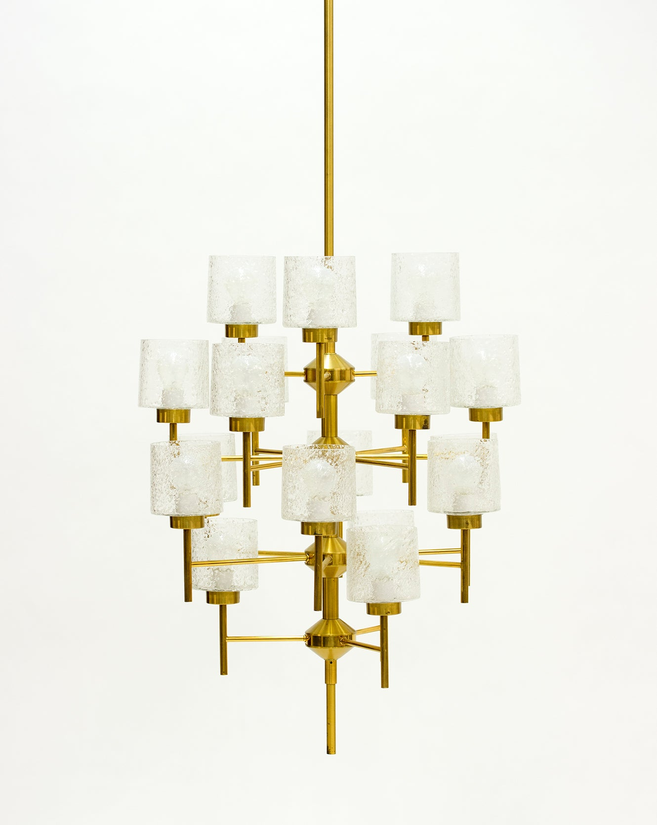 Pair of 1960s swedish brass chandeliers at 1stdibs arubaitofo Image collections