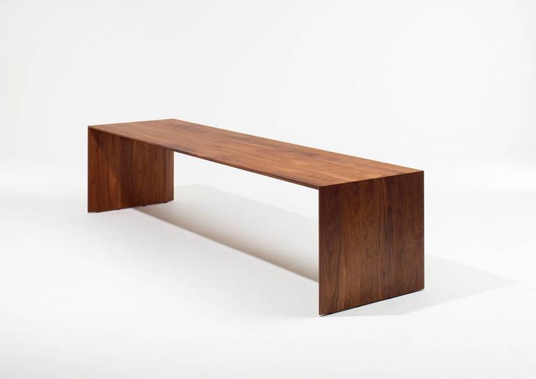 """C"" dining table by Chiara Ferrari.